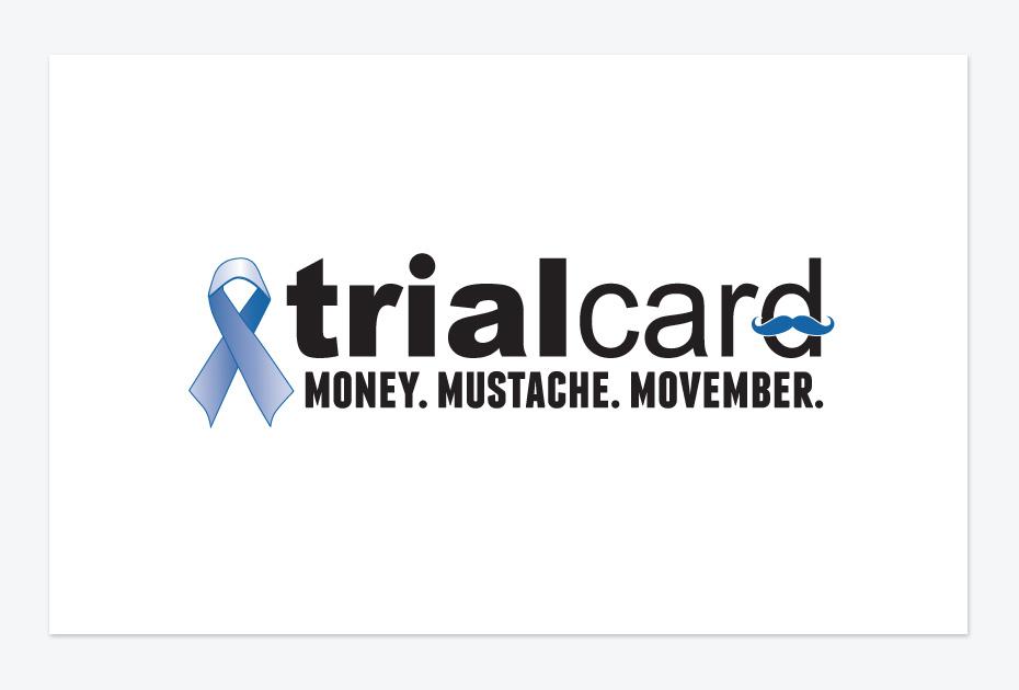 TrialCard Movember Logo