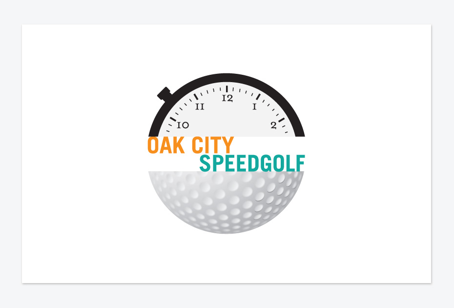 Oak City Speed Golf Logo