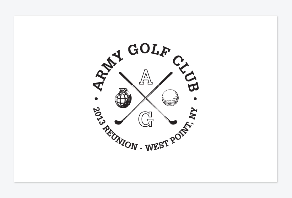 Army Golf Reunion Logo