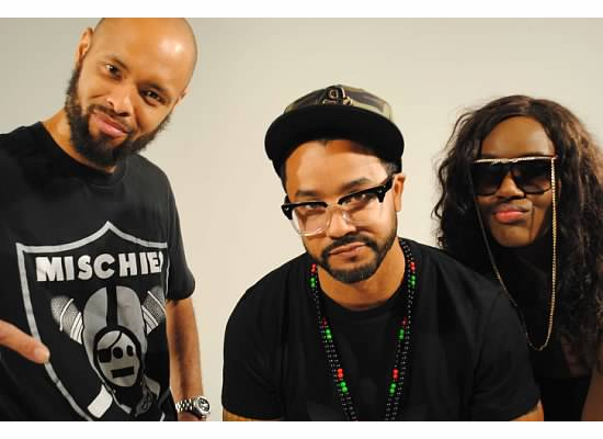 """Took Control"" Video shoot. Tajai of Souls of Mischief, Sean Armstrong & pHoenix Pagliacci"