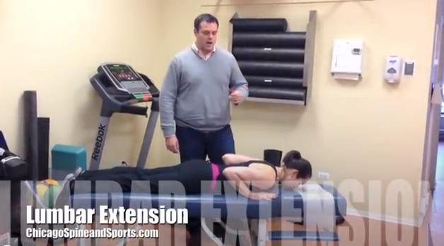 Video #5 - Lumbar Extension