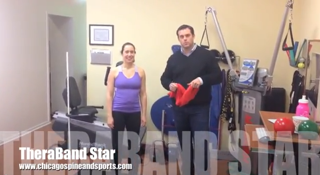 Video #8 - Theraband Star