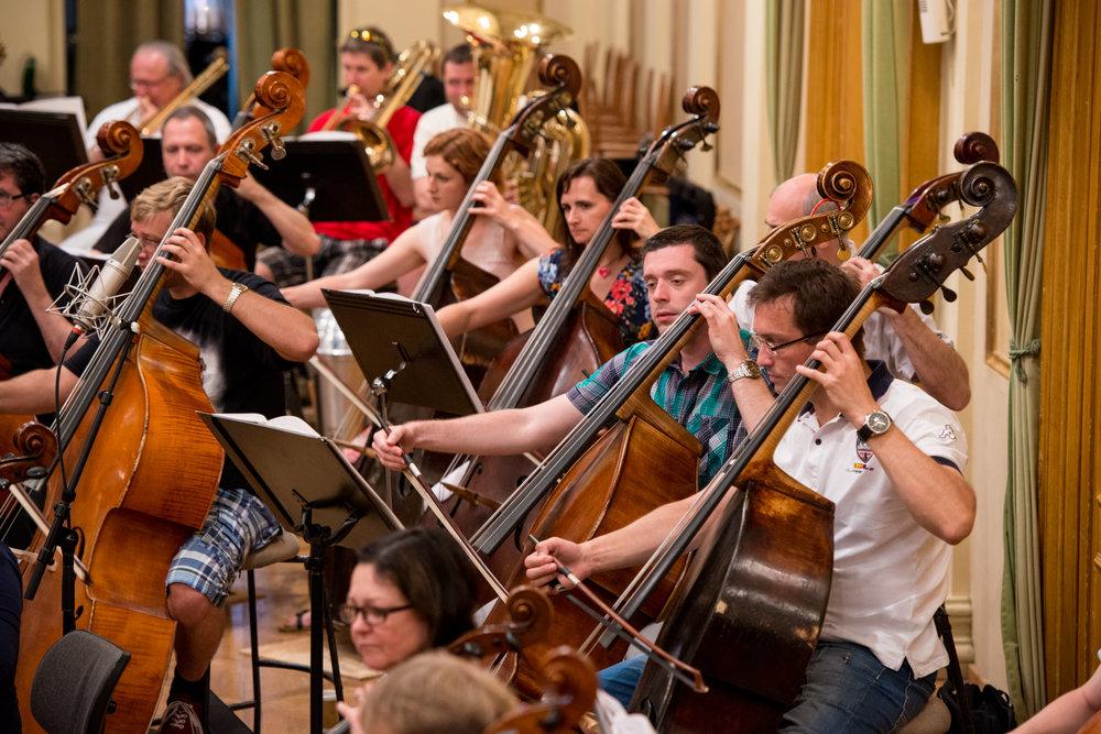 Cellists | Brno Philharmonic Orchestra