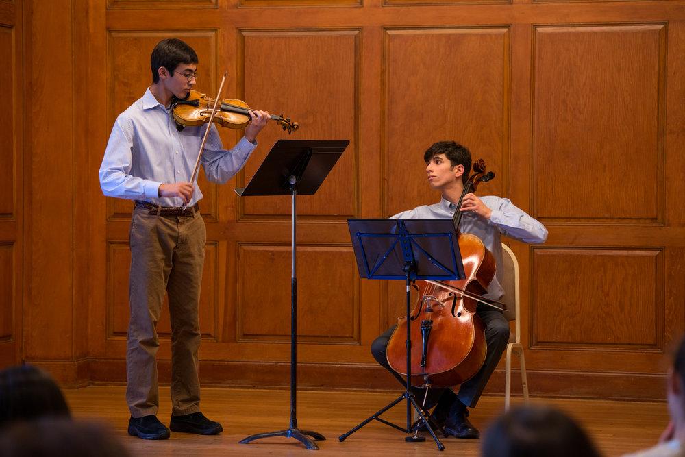 Violin Recital | Salley Koo Music