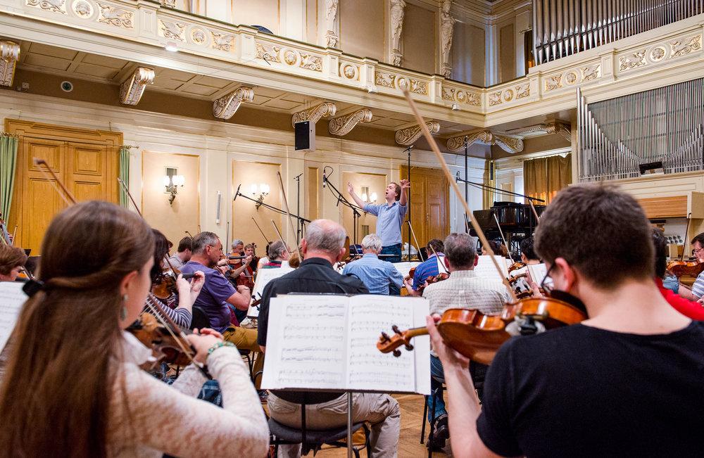 Martin Hebel: Symphony No. 3   Brno Philharmonic Orchestra