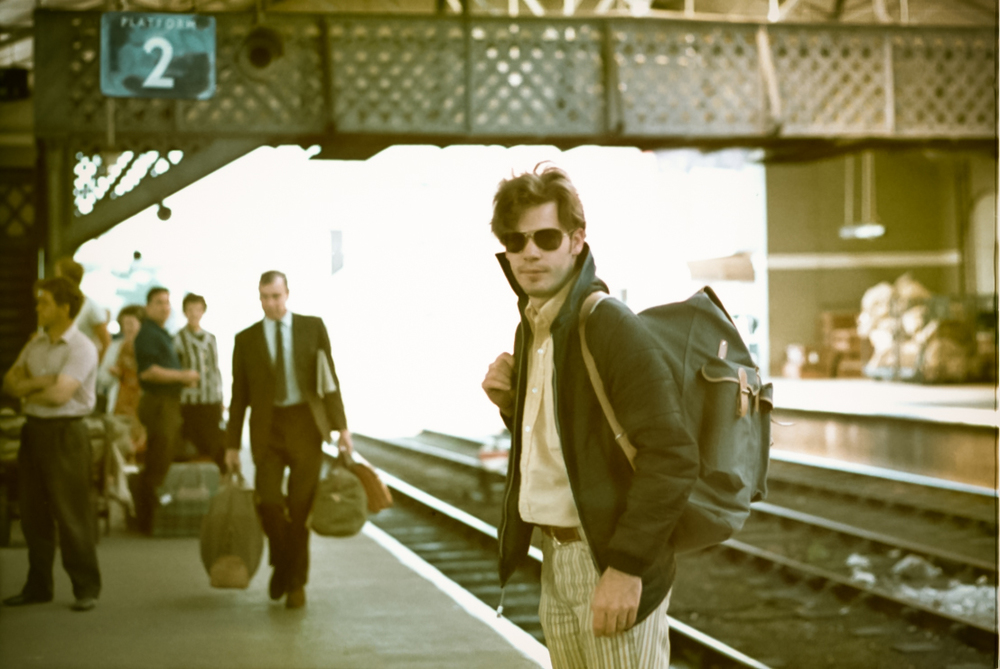 "Yeah, that's me on ""Platform 2 Somewhere in England, 1971"". Some would say it's ""dated"", but I prefer ""vintage""!"