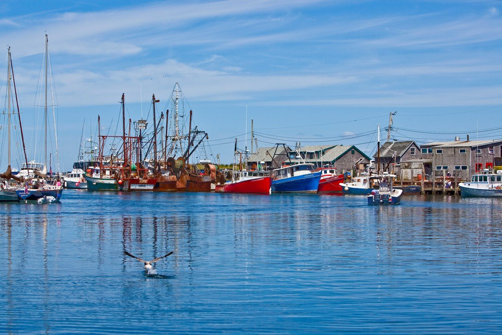 Menemsha Harbor I, Menemsha Fishing Village