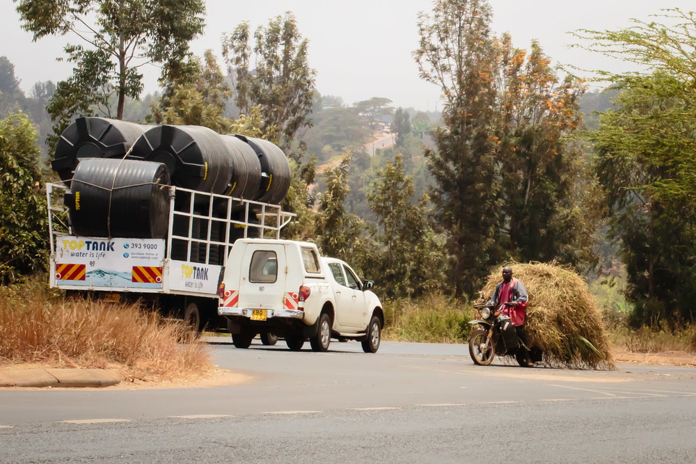 Motorcycle Commerce, On the Road to Nairobi, Kenya