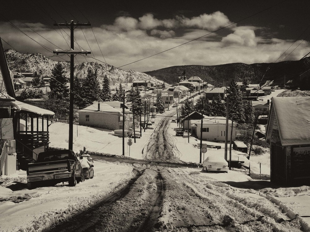 Spring Snow, Walkerville, Montana