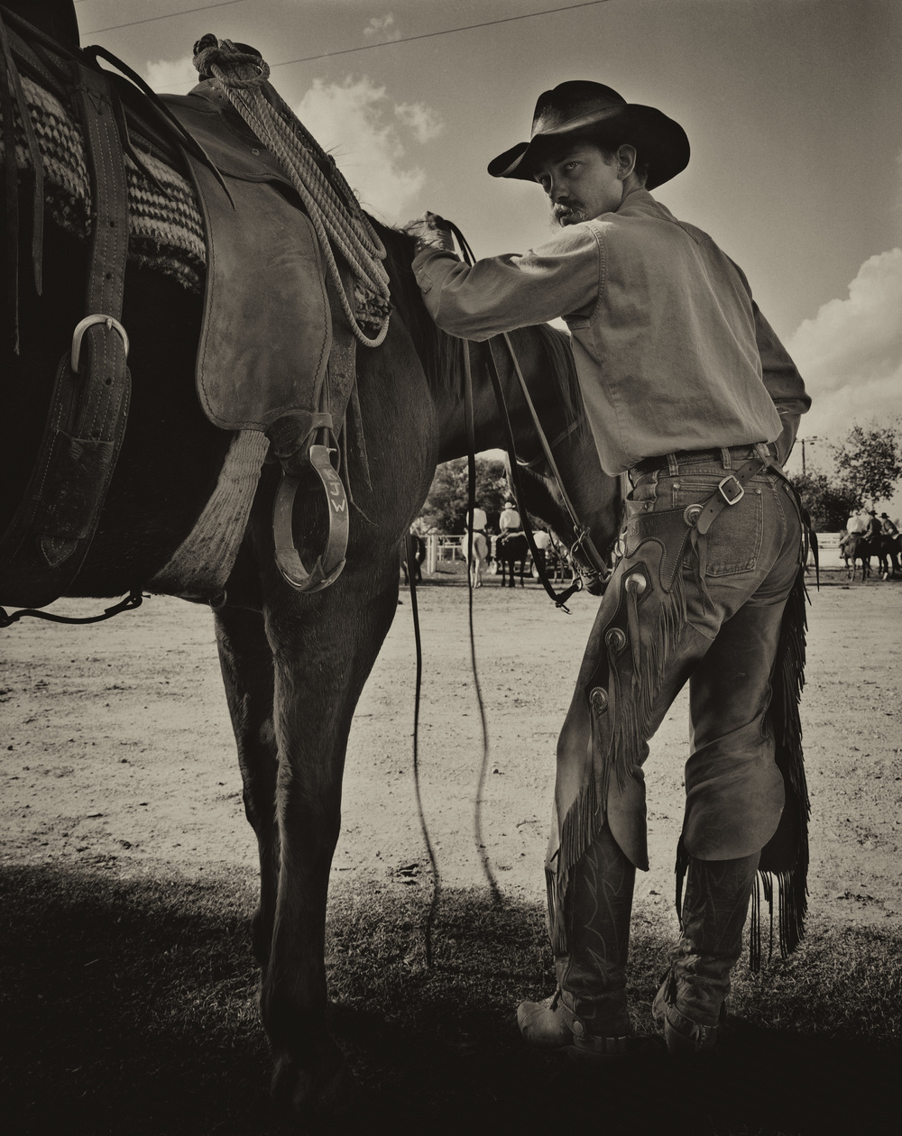 At A Ranch Rodeo, Canadian, Texas
