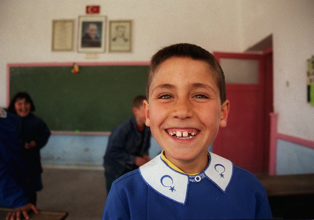 Schoolboy, Gorome, Turkey