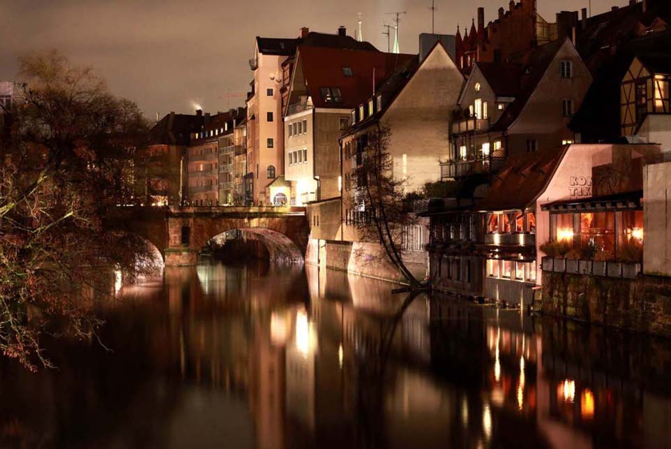Along the Pegnitz, Nuremberg