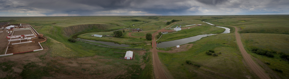 Stampede Ranch on Bullpound Creek near Hanna