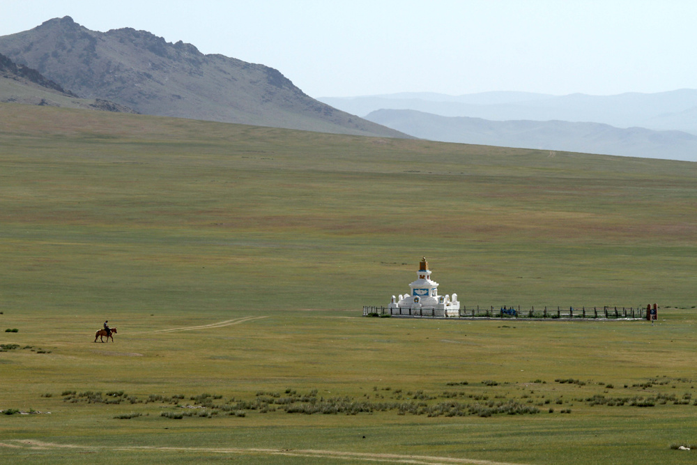 The geographical centre of Mongolia