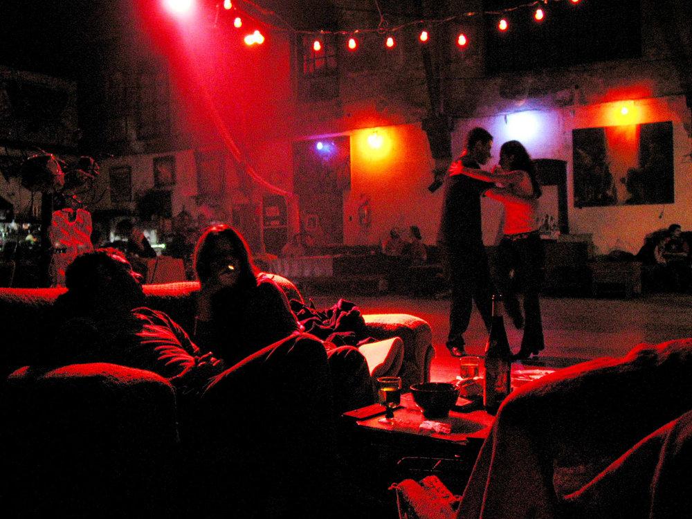 Tango club, Buenos Aires