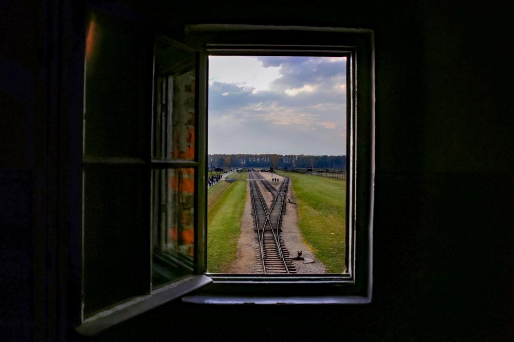 Railroad terminus, Birkenau, Poland