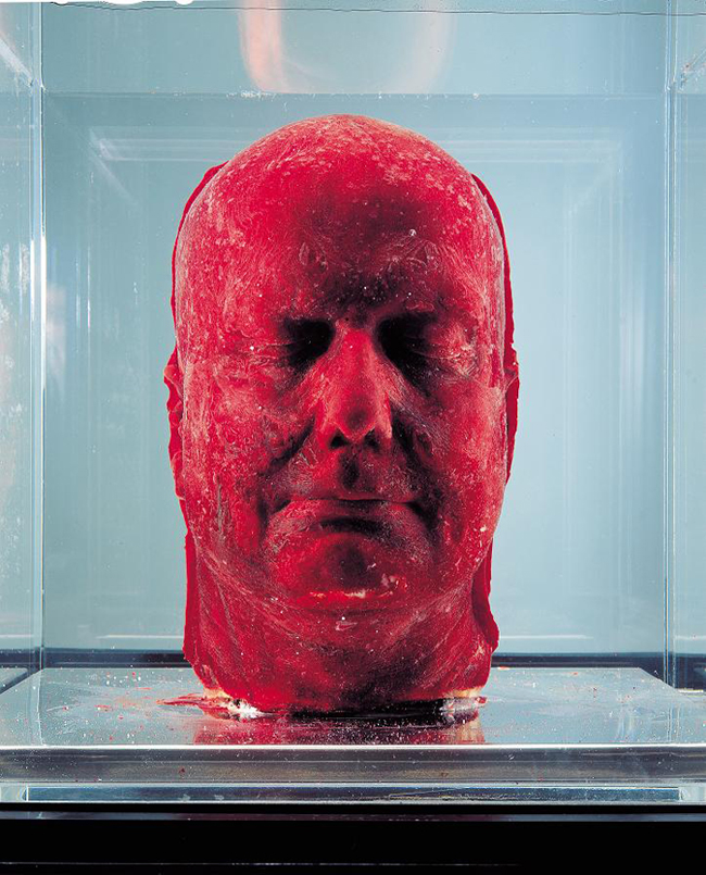 Marc Quinn, Self, 2001, Image: The Art World Daily