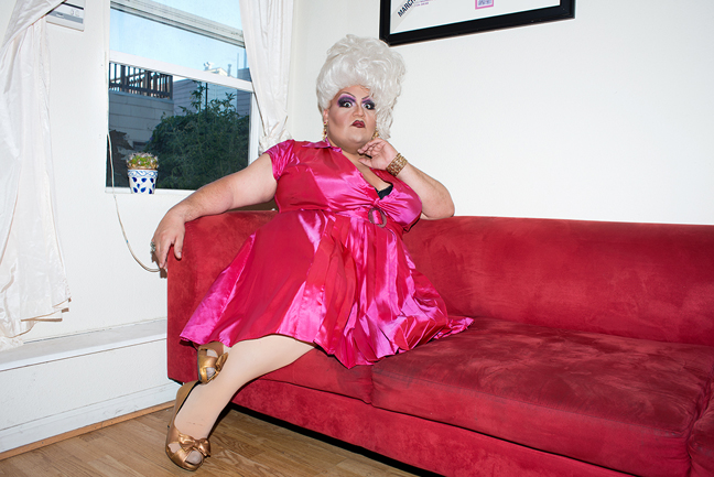 Dulce De Leche in her home, San Franciso, CA