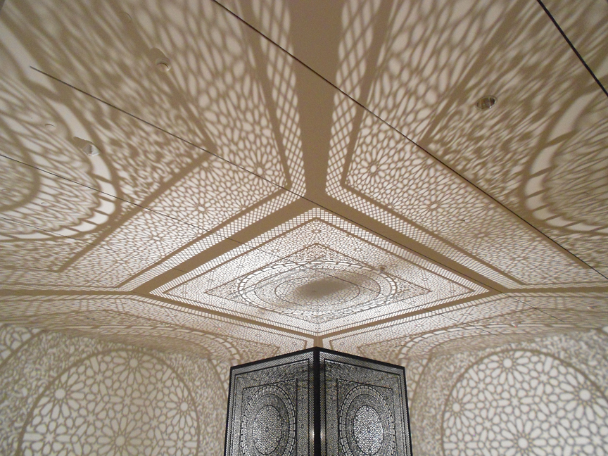 "Anila Quayyum Agha's ""Intersections"""