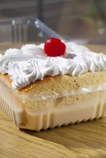 Tres leches cake at MexicanTown Bakery