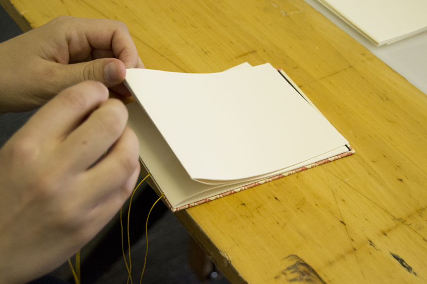 Stitching signatures.
