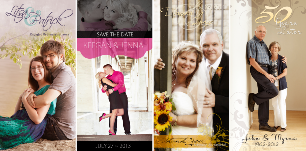 Engagements, Weddings & Anniversaries