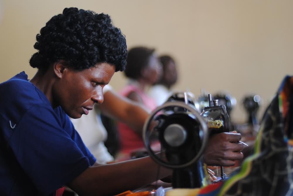 Eliza is another woman working in Kasungu.