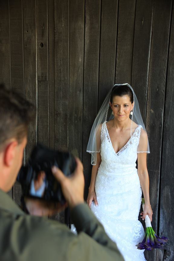 Photographer Steve at Work Shooting Bride Stone Manor COuntry Club