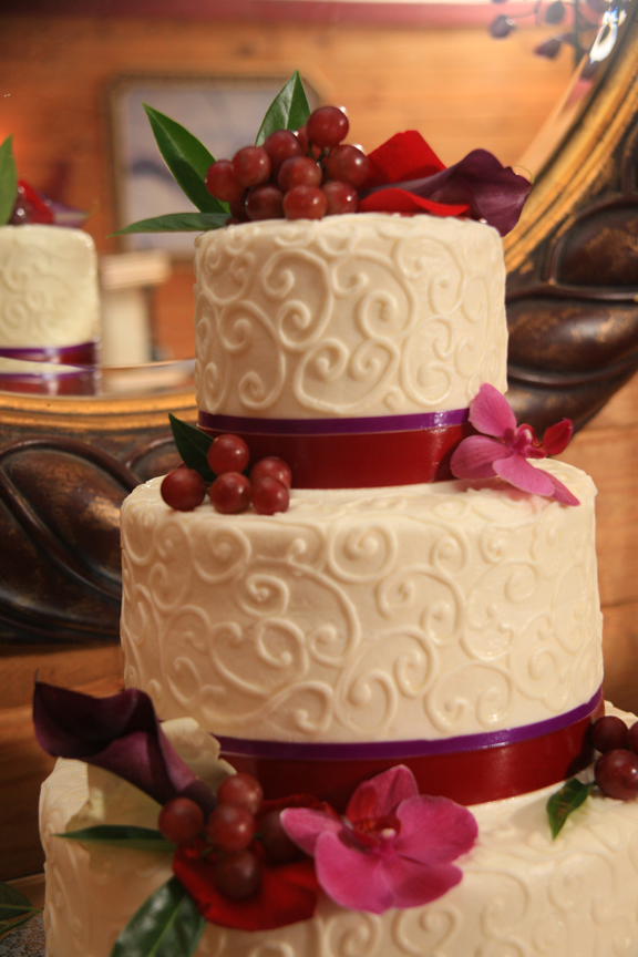 Veramar VIneyard Wedding Cake