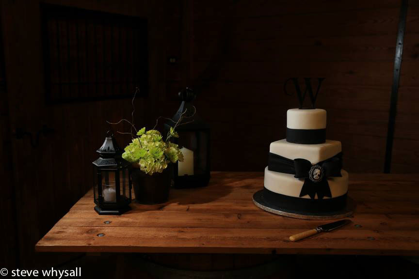 Bluemont Vineyard Wedding Cake