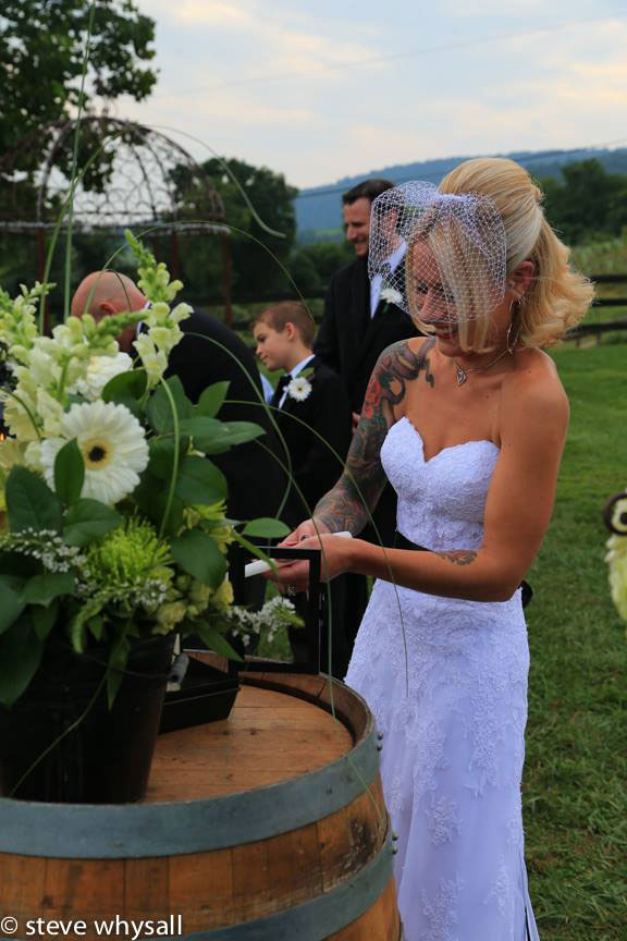 Bluemont Vineyard Wedding Reception