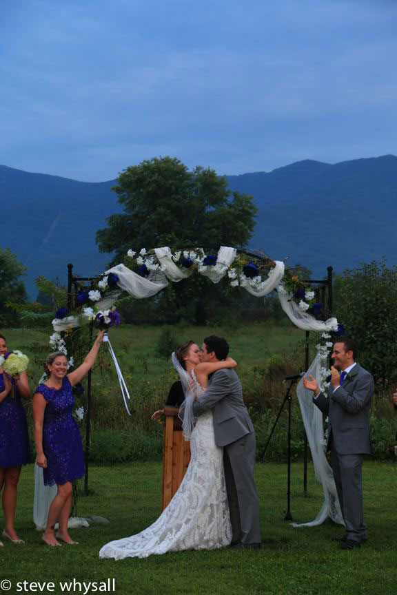 Virginia Farm Wedding Ceremony