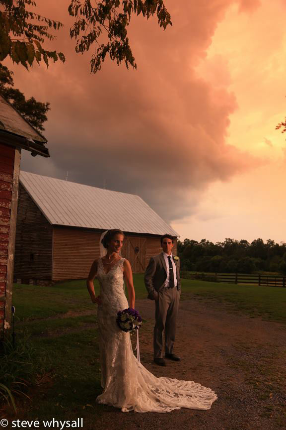 Virginia Farm Wedding Bride and Groom