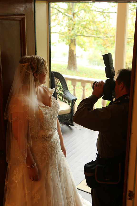 Steve At Work   Professional Photographer Working