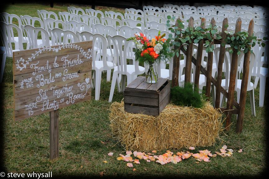 Wedding Detail Photo Bluemont Vineyard