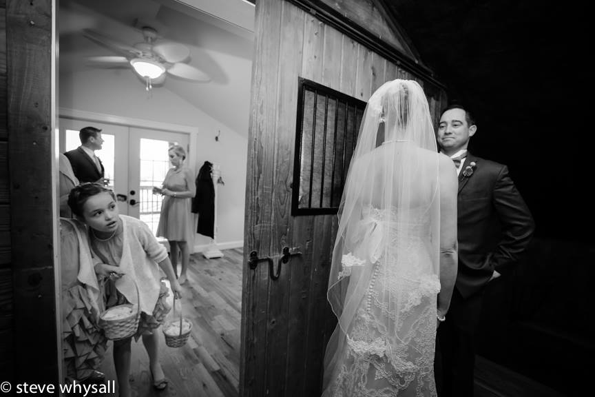 Bluemont VIneyard Bride and Groom