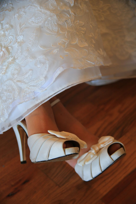 Bluemont Vineyard Wedding Shoes