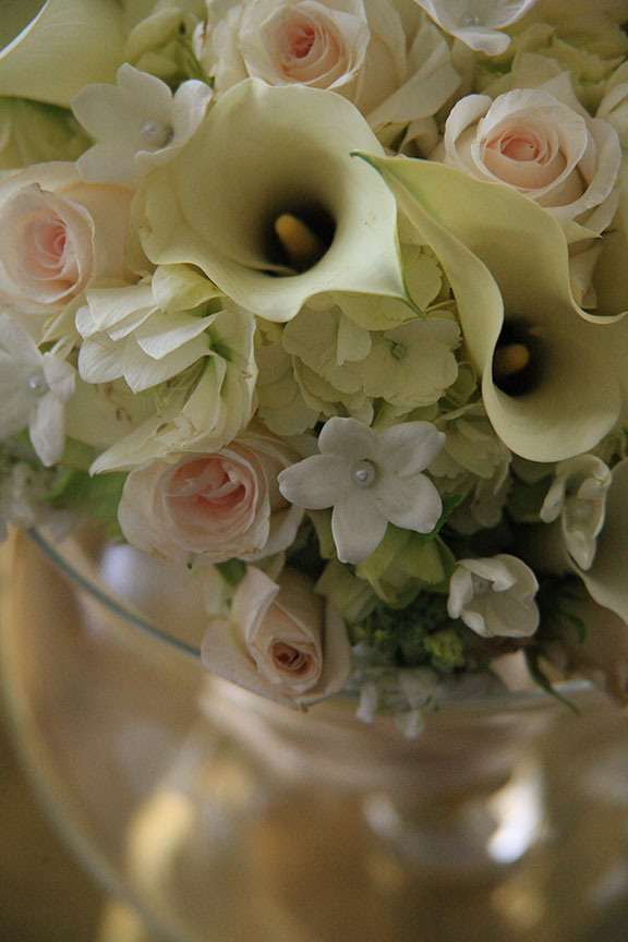 Stone Manor Country Club Wedding Detail Flowers