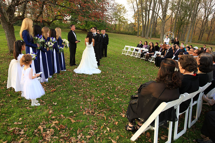 Stone Manor Country Club Wedding Ceremony