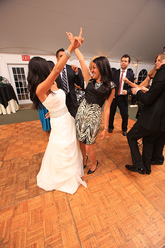 Stone Manor Country Club Wedding Reception Dancing Photo