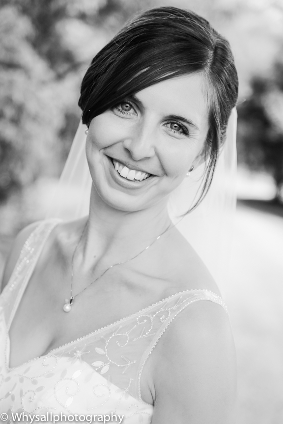 Briar Patch Bridal Portrait