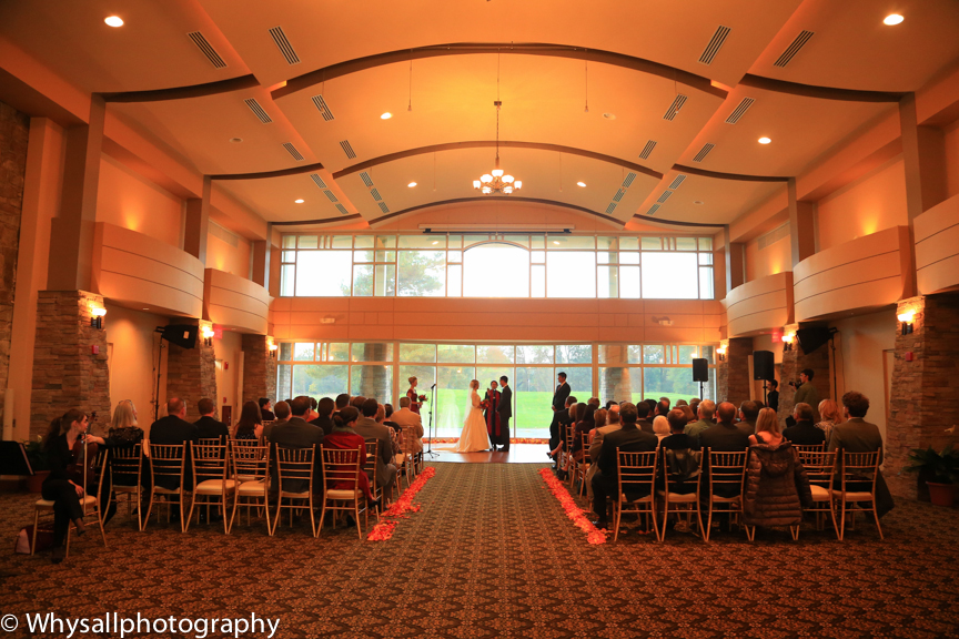 wedding ceremony the woodlands