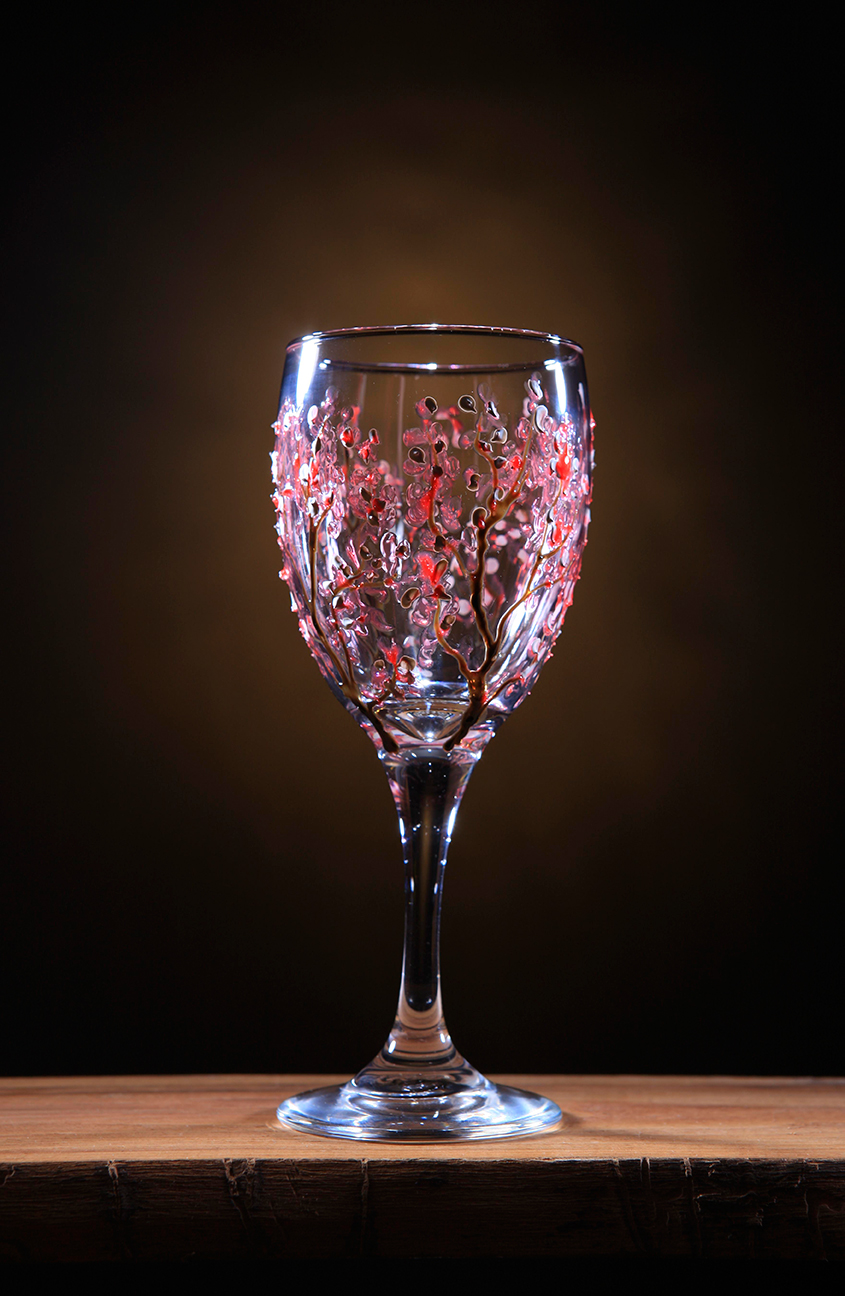 Product photo Pink glass