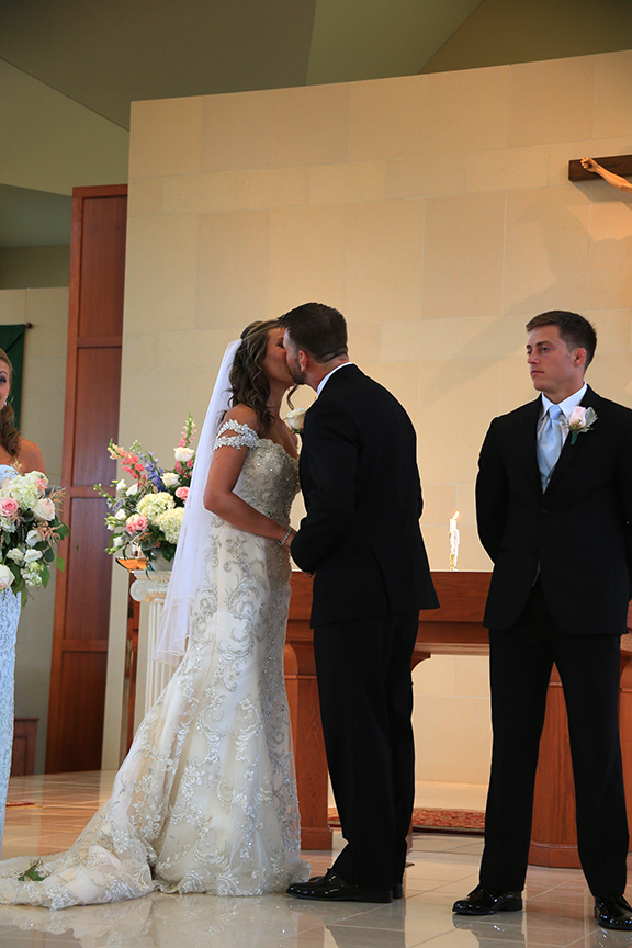 Wedding Ceremony Photo Chesapeake City MD | Frederick Maryland Wedding Photographer