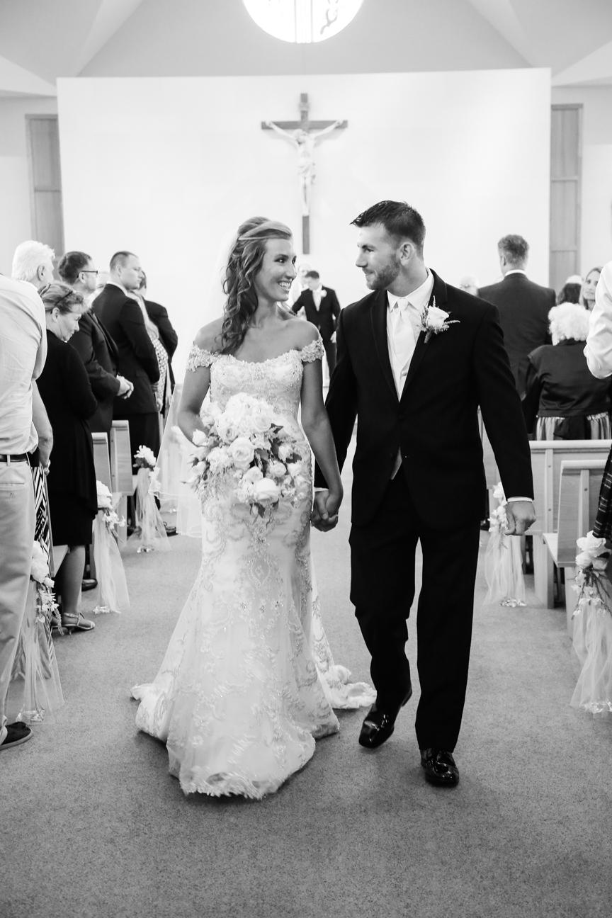 Wedding Ceremony Photo Chesapeake City MD | Frederick Maryland Wedding Photographer
