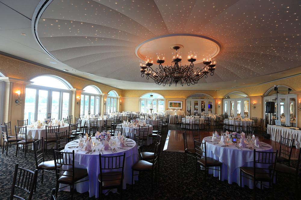 Wedding Reception Room Chesapeake City MD | Frederick Maryland Wedding Photographer
