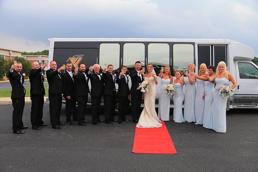 Chesapeake City MD Wedding Party Photo | Frederick Maryland Wedding Photographer