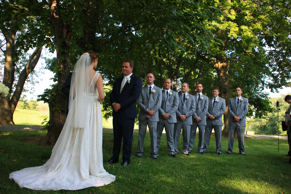 Whitehall Estates Wedding Ceremony Photo