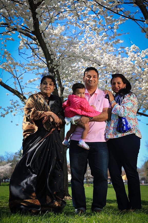 Family Portrait Baker Park