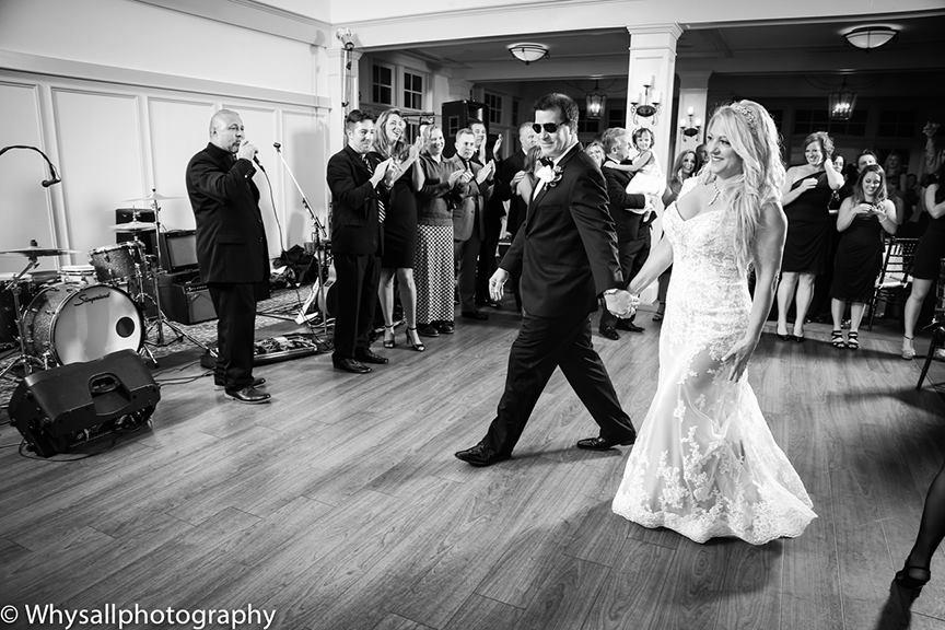 bride groom reception